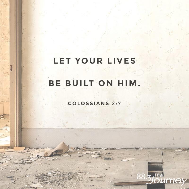 November 14th - Colossians 2:7