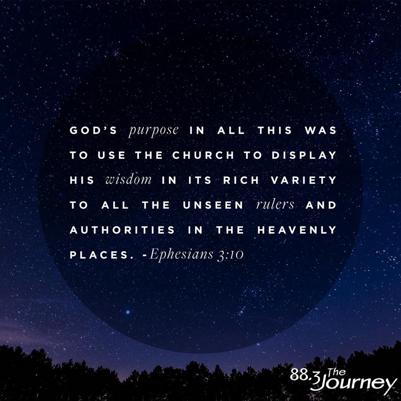 October 27th - Ephesians 3:10