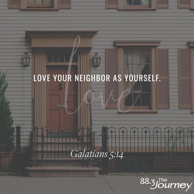 June 1st - Galatians 5:14