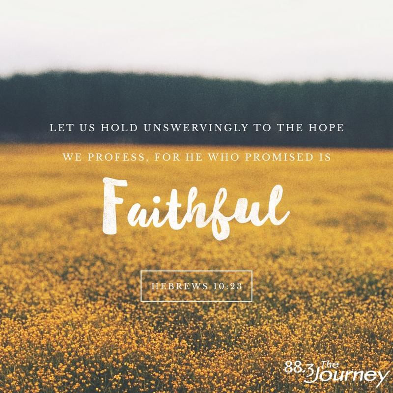 November 16th - Hebrews 10:23