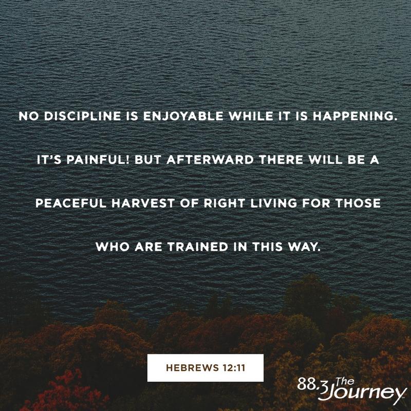 December 13th - Hebrews 12:11