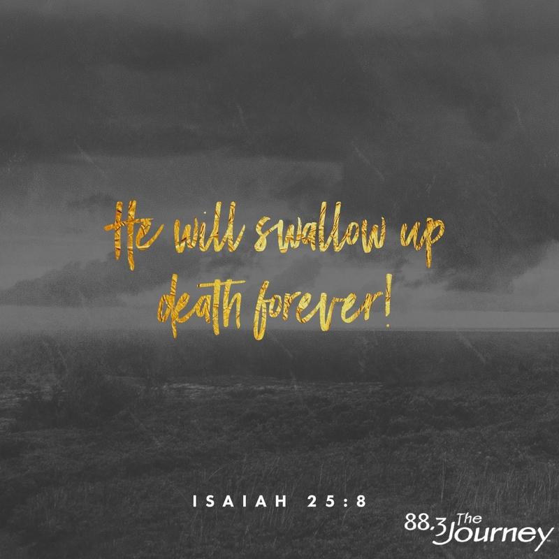 November 17th - Isaiah 25:8