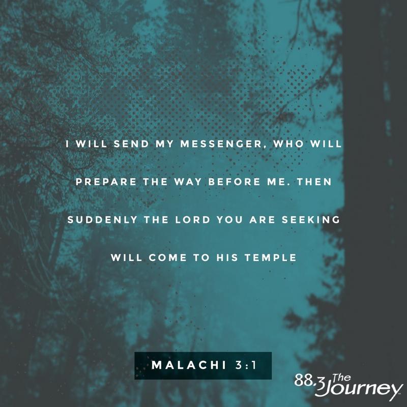 November 22nd - Malachi 3:1