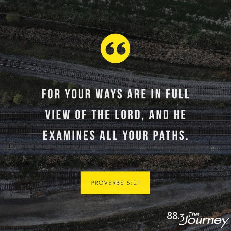 May 27th - Proverbs 5:21