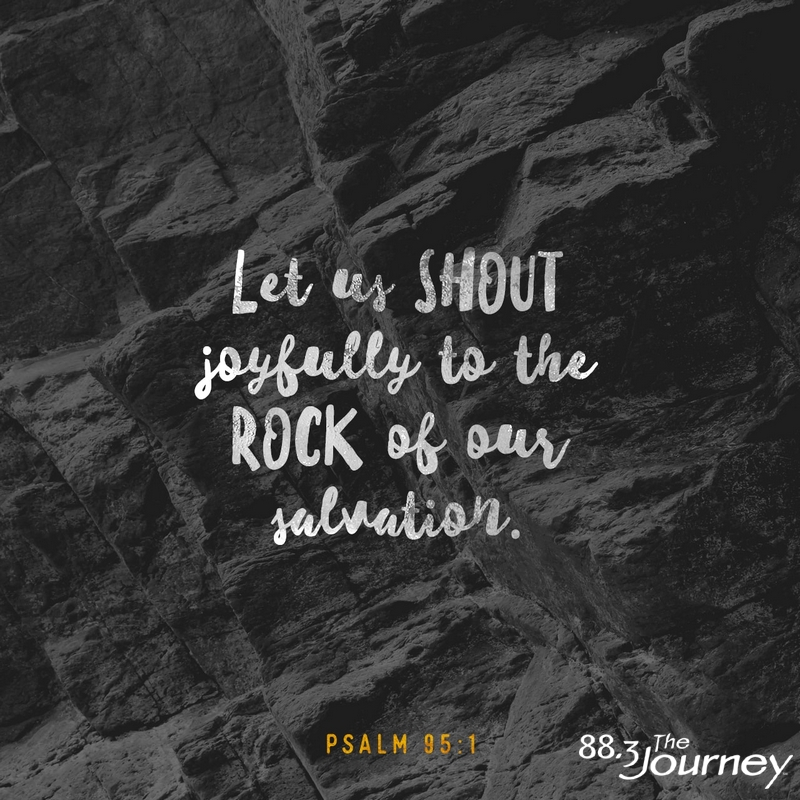 November 29th - Psalm 95:1