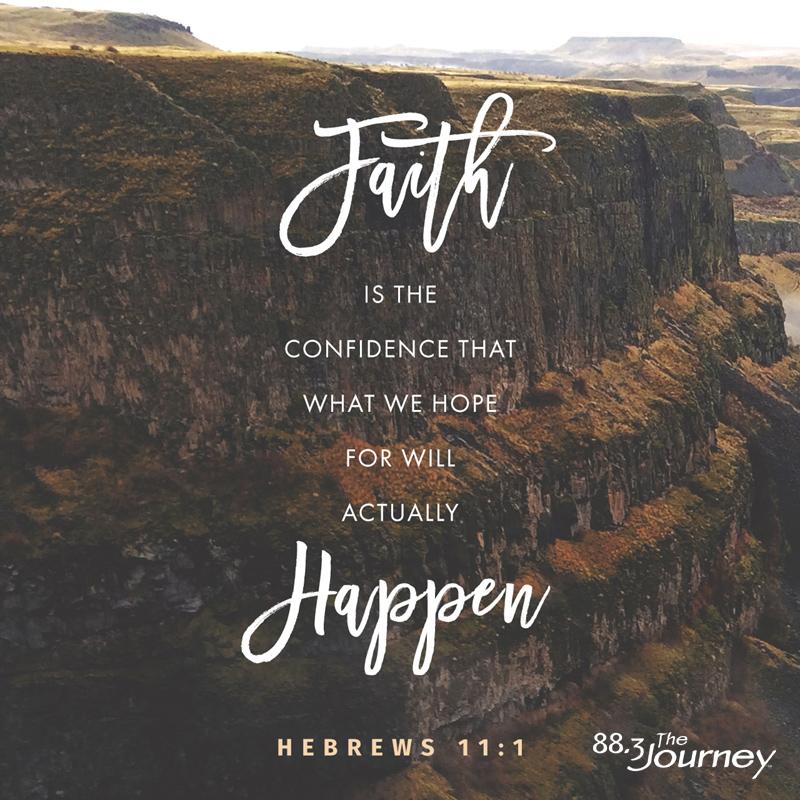 March 22nd - Hebrews 11:1