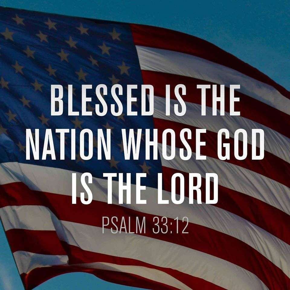 July 4th - Psalm 33:12