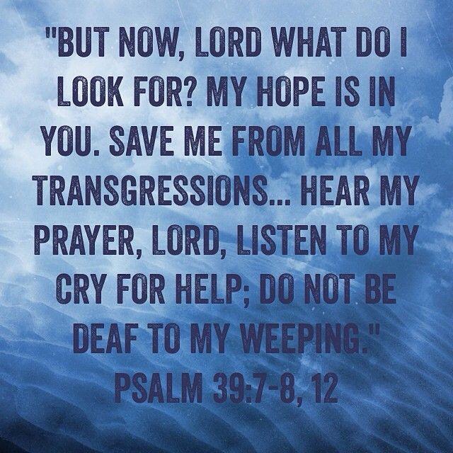 Psalm 39:7