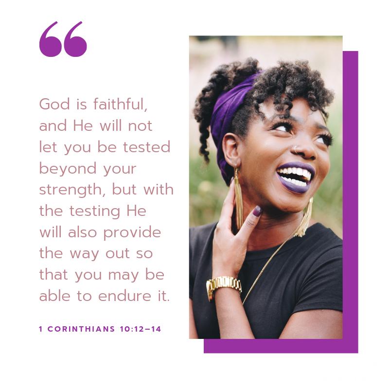 1 Corinthians 10:12-14