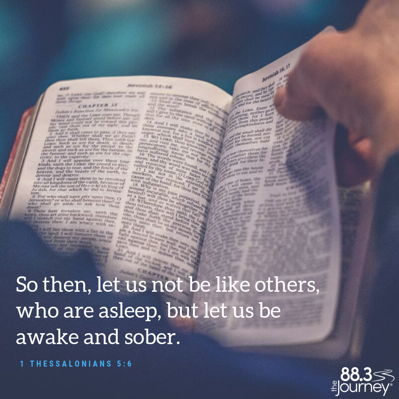 1 Thessalonians 5:6
