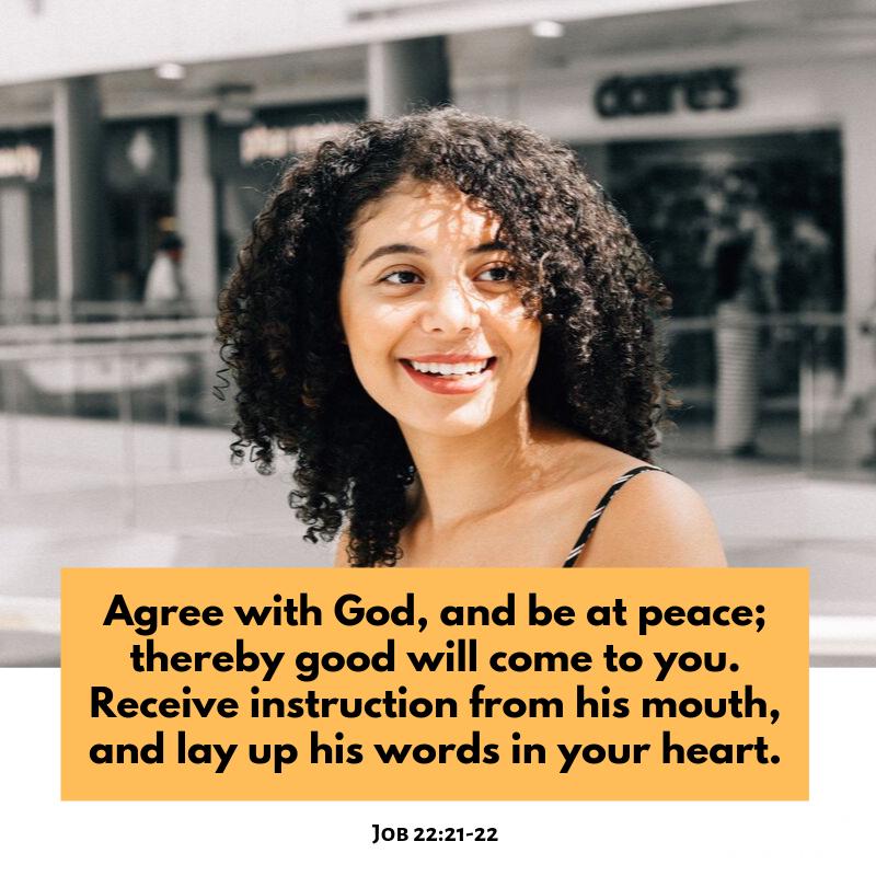 Job 22:21-22